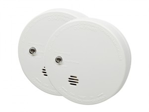 Ionisation Smoke Alarm with Test (Twin Pack)