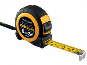 Superior ProErgo-R Pocket Tape 8m/26ft (Width 25mm)