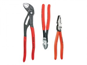Power Pack High Leverage Plier Set (3)