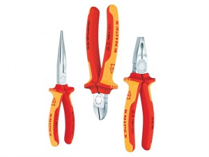 Elektro Pack - VDE Certified Pliers Set (3)