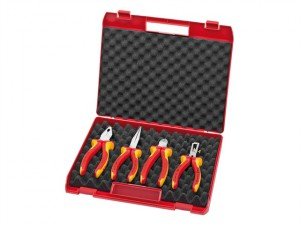 VDE Plier Set In Tool Box (4)