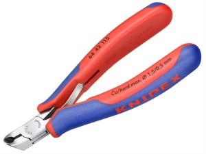 Electronic Diagonal End Cutting Nippers Short Head 115mm