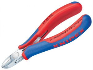 Electronic Diagonal Cut Pliers - Round Non Bevelled 115mm