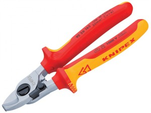Cable Shears Return Spring VDE Certified Grip 165mm