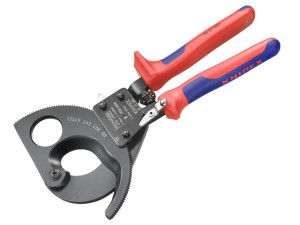 Cable Shears Ratchet Action Multi-Component Grip 280mm (11in)
