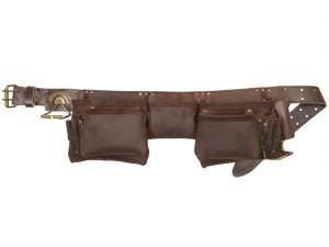 19427 Oil Leather Construction Apron 12 Pocket
