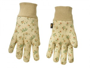 Cotton Jersey Gripper Gloves (One Size)