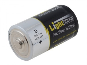 Alkaline Batteries D LR20 14800mAh Pack of 2
