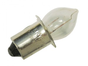 Krypton Bulbs (2) 2.4v Push (R2AA & R2D)
