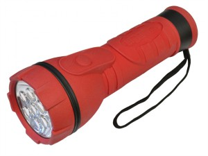 Rubber Torch 7 LED 2 D
