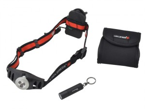 Twin Pack With H3 Head Torch & K2 Key Light