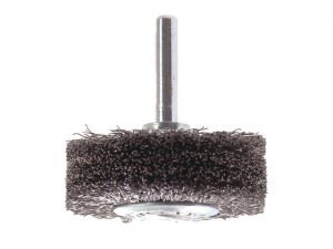 Wheel Brush with Shank 70 x 20mm 0.30 Steel Wire
