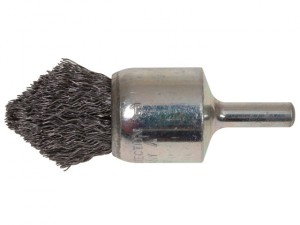 Pointed End Brush with Shank 23/68 x 25mm 0.30 Steel Wire