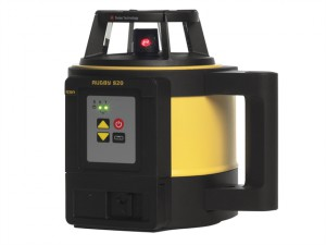 Rugby 820 Rotation Laser & Rod Eye 160 Li-Ion