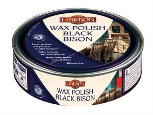 Wax Polish Black Bison Victorian Mahogany 150ml