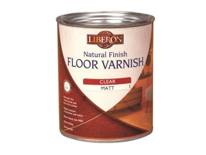 Natural Finish Floor Varnish Wax Effect Light Oak 1 Litre