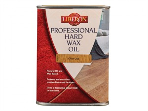 Professional Hard Wax Oil Clear Oak 1 Litre