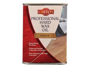 Professional Hard Wax Oil Medium Oak 1 Litre