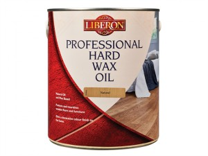 Professional Hard Wax Oil Natural 2.5 Litre