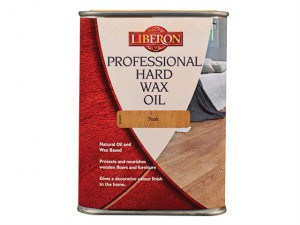 Professional Hard Wax Oil Teak 1 Litre
