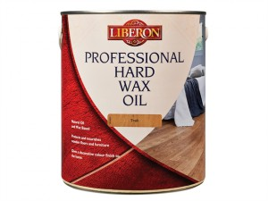 Professional Hard Wax Oil Teak 2.5 Litre