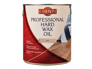 Professional Hard Wax Oil White 2.5 Litre