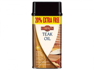 Teak Oil with UV Filters 1 Litre + 20% Extra Free