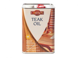 Teak Oil with UV Filters 5 litre