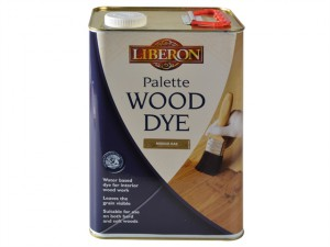 Palette Wood Dye Medium Oak 5 litre