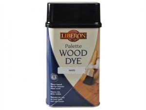 Palette Wood Dye White 500ml