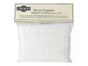 Woodturners Safety Cloth (Pack of 3)