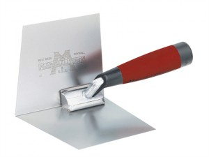 M23D Internal Dry Wall Corner Trowel DuraSoft Handle