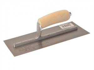 MXS3 Plasterers Finishing Trowel Wooden Handle 11 x 4.3/4in