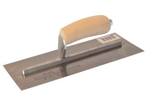MXS4 Plasterers Finishing Trowel Wooden Handle 11.1/2 x 4.3/4in