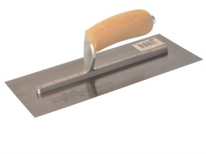 MXS7 Plasterers Finishing Trowel Wooden Handle 12 x 5in