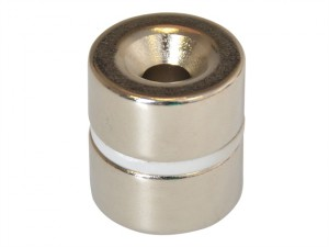 314 Countersunk Magnet (2) 20mm Polarity: North