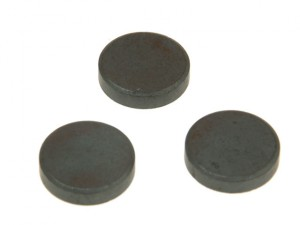 600 Ferrite Disc Magnet 14mm (Card of 10)