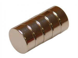 654 Neodymium Disc Magnet 10mm (Pack of 5)