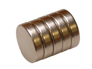 656 Neodymium Disc Magnet 12mm (Pack of 5)
