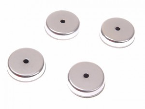 704 Ferrite Shallow Pot Magnets(4) 40mm