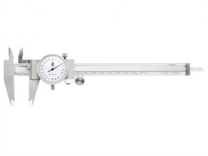 Dial Calipers White Face 0-150mm