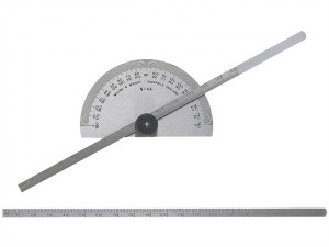 Protractor Type Depth Gauge Metric/Imperial