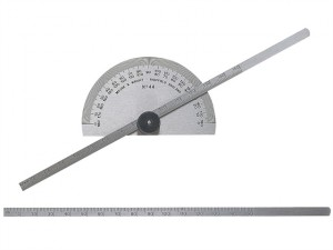 Protractor Type Depth Gauge Metric