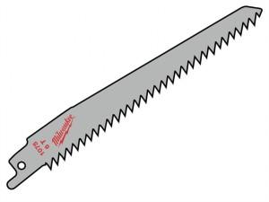 SAWZALL® Sabre Blade Wood/Plastic 150mm 6 tpi (3)