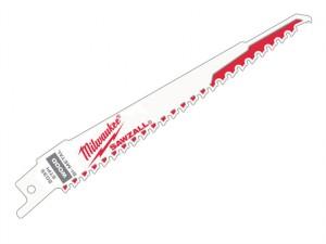 SAWZALL® FANGTIP™ NAIL GUARD™ Sabre Blade 150mm 5 tpi (5)