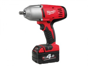 HD18 HIW-402 Pin Dedent 1/2in Impact Wrench 18V 2 x 4.0Ah Li-Ion