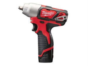 M12 BIW38-202C Compact 3/8in Impact Wrench 12V 2 x 2.0Ah Li-Ion