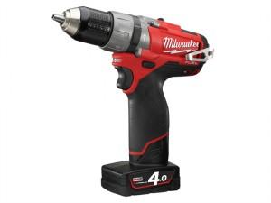 M12 CPD-402C FUEL™ Compact Cordless Percussion Drill 12 Volt 2 x 4.0Ah Li-Ion