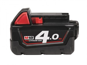 M18 B4 REDLITHIUM-ION™ Slide Battery Pack 18V 4.0Ah Li-Ion
