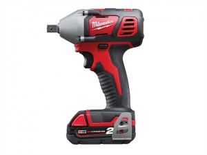 M18 BIW12-202C Compact 1/2in Impact Wrench 18 Volt 2 x 2.0Ah Li-Ion
